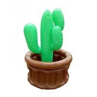 Wholesale buckets pails for sale - Group buy Cactus Ice Pail Pvc Inflation Coconut Tree Toy Popular Bucket Resistance To Fall With High Quality Creative mt J1