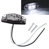 montagem de superfície led diodo venda por atacado-1 Pcs LED Light 2 Diode 1x2.5 Superfície marcador Monte folga lateral Trailer Vermelho / Âmbar / Branco Car-styling venda quente