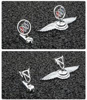 For Buick New Lacrosse Old Style LOGO Regal Auto Styling Front Hood Bonnet Emblem Metal Badge Stickers
