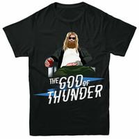 ingrosso tè dei capretti dell'annata-Il Dio di T-shirt Tuono, Thor Vendicatori Funny Kids Adulti Tee Top Vintage Tee Shirt
