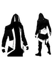cores do hoodie do credo dos assassins venda por atacado-Hot Sale Personalizado Feito Sob Encomenda Moda Assassins Creed 3 III Connor Kenway Hoodies / Trajes Casacos / Brasão 9 cores escolher direto da fábrica