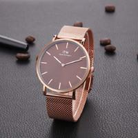 наручные часы купить оптовых-Лучший продавец Мужские женские часы Daniel Wellington DW 40мм Мужские часы 32mm Женские часы Кварцевые часы DW Relogio Montre Femme Наручные часы
