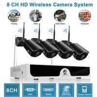 drahtlose hdmi kamera großhandel-JOOAN drahtlose WIFI 1080P Überwachungskamera HDMI 8CH NVR Outdoor IP-Kamera-System