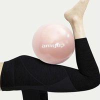 Wholesale yoga for beginners resale online - 25Cm Yoga Ball Small Pilates Balls Thick Explosion Proof Gym Sports Fitness Balance Fit Ball Workout Massage Ball For Beginner HEmAZ