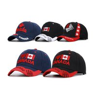 Wholesale hats for sale - Group buy Popular Baseball Hat Embroidery Sports Caps Canada Letters Hat Outdoor Snapbacks Unisex Cycling Hiking Caps ZZA731