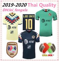 ingrosso campionato di calcio tailandese-1993 CLUB AMERICA Maglie da calcio retrò 93 94 HOME AWAY 95 96 99 MEXICO League 1999 Jersey Football 1995 1996 Retro Soccer Shirt