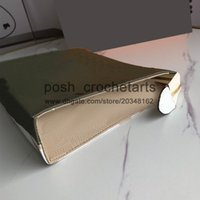 Wholesale box gifts ideas resale online - Trendy Designer Toiletry Bag With Box Packaging Gift Ideas Zippy Cosmetic Pouch Clutch Style Designer Pouch for Women s Luxus Handbag Purses