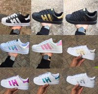 Wholesale shoes lower price for women resale online - Low price Fashion Mens Casual shoes Superstar smith stan Female Flat Shoes Women Zapatillas Deportivas Mujer Lover Sapatos Femininos for men