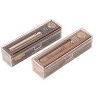 pluma de oro de china al por mayor-Latón Knuckles Vape Batería 650mAh Oro 900mAh Voltaje variable de madera Vape Pen Con cargador USB en caja de regalo para 510 cartuchos de Vape
