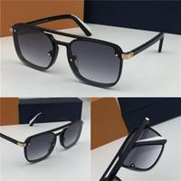 простой материал оптовых-Новые моды дизайнер MEN очки PLAYER 1023 квадратных особенности Материал рамы популярный простой стиль высшего качества защиты UV400 очки