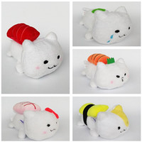 Wholesale Hot Sale San x AMUSE Sushi Cat Plush Stuffed Toy For Kids Best Holiday Gifts inch cm