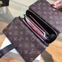 huawei p8 telefon çantası toptan satış-En Kaliteli Lüks Tasarımcı Cüzdan Bayan Çanta Paris Gösterisi ile Klasik Bayan Çanta Kart Sahibinin Fermuarlı Cebi Kutusu ile