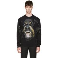 stil erkekler için hoodies toptan satış-Erkek Hoodies Yeni Popüler Logo Büyük Köpek Baskı Kazak Gevşek Tipi Köpek Hoodies Erkek Tasarımcı Hoodies Batı Tarzı