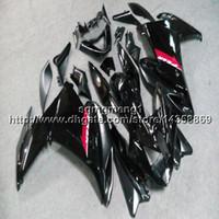 carenado fz6r negro al por mayor-Artículo de la motocicleta 23colors + Screws black Para yamaha FZ6 09 10 FZ6R 2009 2010 ABS Plastic Fairing