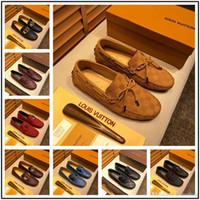 lüks düğün smokinleri toptan satış-Newst Lüks Erkek Düğün Mavi Smokin Ayakkabı Patent Hakiki Deri Siyah Moda Elbise Ayakkabı Erkekler Üzerinde Kayma Patron Asansör Ayakkabı