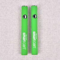 ladegeräte für e cigs großhandel-Neue Smart Cart Bio Premium Vape Batterie 380mAh Vorheizen VV Variable Voltage Bottom USB Ladegerät SmartCart 510 Dickes Öl e cigs dc022