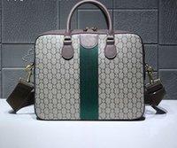 evrak çantası satışı toptan satış-Yeni Stil Sıcak satış 36.5 cm Evrak ünlü erkekler Moda marka casual lüks vintage Omuz çantaları Evrak