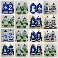 ingrosso maple leaf jersey-New Toronto Maple Leafs Hockey 34 Auston Matthews Jersey 91 John Tavares 29 William Nylander 16 Mitchell Marner 31 Frederik Andersen Jersey