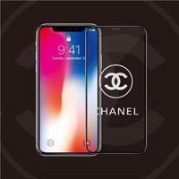 yeni moda ekran koruyucusu toptan satış-Yeni Tasarımcı Moda Gölge Cep Telefonu Ekran Koruyucuları 9 H Sertlik Anti-Çizik Temperli Cam Ekran Koruyucu 2019 Sıcak Satış toptan