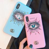 cover iphone frauen großhandel-Leder Tränen der Engel Telefon Fall für iPhone XS Max / XR X 8/7/6 Plus Handy Cover Schutz Coque Shell für Frauen