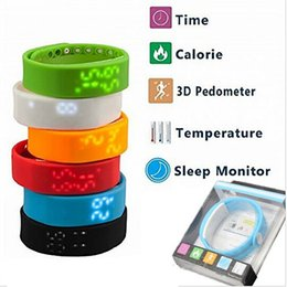 Wholesale Waterproof Watch Usb - Smartband W2 Wristband Smart USB Watch Bracelet LED Wrist Band Waterproof For Samsung iPhone IOS Android Christmas Gift