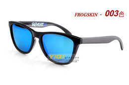 Wholesale 2015 New Polarized Frogskins Sunglasses With Original Packaging Street Fashion UV400 Sun Glasses Oculos De Sol Masculino