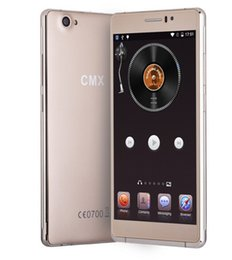 Wholesale Dual Screen Gsm Mobile Phone - Brand Mobile Phone CMX C10 6.0 inch Android 5.1 MTK6580 Quad Core 1.3GHz ROM 8GB RAM 1GB 2500mAh GPS Dual SIM WCDMA GSM
