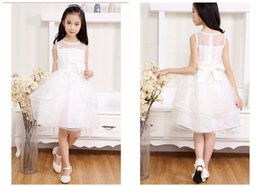 Wholesale Children Dance Images - Children's Wear Princess Dress Marriage Gauze Skirt Of Bitter Fleabane Bitter Fleabane Skirt  Children Dance Skirt Flower Girl Dress