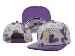 Wholesale Hater Black Snapback - Hater Snapback Purple Thunder Classic Cap Hat Mens Limited Exclusive NEW Style High Quality