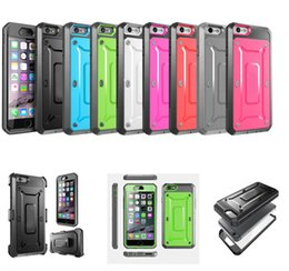 Wholesale Iphone 5s Belt - Armor Impact Rugged PC TPU Hybrid Screen Protective Cover Case With Belt Clip For iPhone 5 5S 6 7 Plus iPhone6 Samsung Galaxy S6 S7 Edge S8