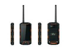 Wholesale Rugged Android 3g - Original V6 IP68 rugged Waterproof Phone MTK6572 Android cellphones Walkie talkie PTT 2 way radio long range 3G GPS