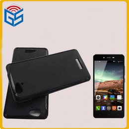Wholesale Gionee Phones - Gel Soft TPU Phone Cover For Gionee V188 Pudding Case With 12 Color For Gionee V188S