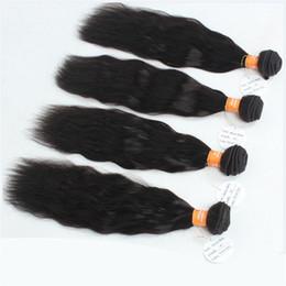 Wholesale Premium Remy Virgin Hair - Natural Wave Indian Virgin Hair Weft Extensions,1Pcs Lot Natural Curly Wave Human Hair Weaving Bundles,Premium Indian Remy Hair Water Wave