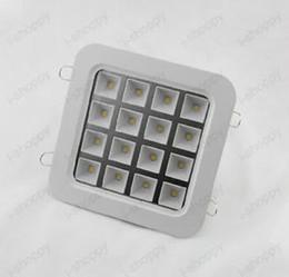 Wholesale 16w Led Bars - Wholesale-16W LED Ceiling Grille Light Fixtures Square Grid Lamp Garage Warehouse Shop BAR