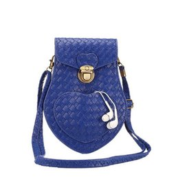 Wholesale Iphone Cross Body Bag - Universal Heart style 6.3 inch PU Leather Cross-body Shoulder Bag Pouch for iPhone 6 , 6 Plus ,Galaxy Note 4 , s6 edge ,s6 edge plus