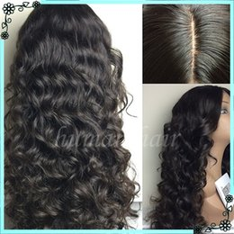 Wholesale Glueless Lacefront Wigs - Full Density Full Lace Wig Glueless For Black Women Peruvian Virgin Human Hair Lacefront Wigs With Baby Hair Around