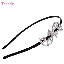 "Wholesale Women S Hair Accessories Wholesale - China Yiwu Trendz Jewelry ""S"" Shape Crystal Rhinestone Hair Accessories Elegant Women Loved Beautiful Headbands Wholesale FG_F01-02"