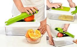 Wholesale Vegetable Cuts - 12 In 1 Vegetable Fruit Nicer Slicer Plus Chopper Cutter Peeler Vegetable Fruit Graters Peeler Cutter Slicer Cutting Kitchen Tool Epacket