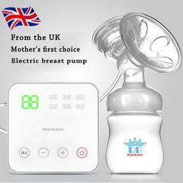 Wholesale Electric Breast Pumping - new proyal brand electric USB breast pump Baby Products manual tye feeding breast pumps,Milk bottle   nipple breast pump 8006S