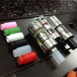 Wholesale Silicon Disposable Drip Tips - Silicone Mouth piece Cover Silicon Drip Tip Disposable Colorful Rubber Testing Tips Cap Atlantis Tank mini subtank plus Subtank Mini