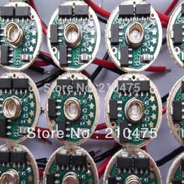 Wholesale Cree Mce - Wholesale-10pc high quality led driver 17mm 7135x8 MCU Dimming 2800mA 5-Mode LED Circuit Board for CREE MCE P7 CREE XML T6 LED Flashlight
