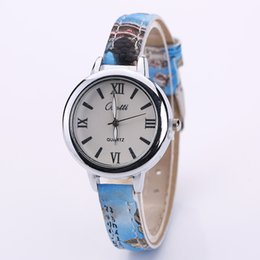 Wholesale Floral Clocks - best2011 store New Top Silver Style Women Watches 2016 Classic Casual Wristwatch Floral Strap Quartz Watch Clock Women Gift XR1809