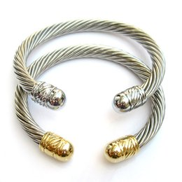 Wholesale Wide Bangle Cuff - bangle metal cuff bangles for women 2016 new natural wide titanium bangle jewelry brazaletes pulseras mujer eManco