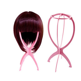 Wholesale Wholesale Fashion Online Free Shipping - Colorful Plastic wig stand Hair holder lifts hair accessories Hair care products for cheap online New Fashion free ship