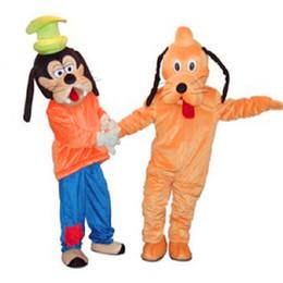 Wholesale New Pluto Mascot Costume - Fancytrader 2015 New Christmas Goofy Pluto Mascot Costume Fancy Dress 4 Models