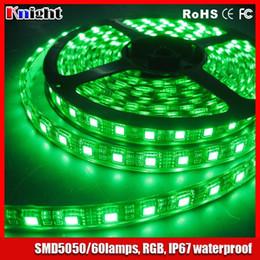 Wholesale Blue Lights For Fish Tanks - wholesale Fish Tank light for plants 12v 5m rgb 5050 strip light ip67 waterproof,led Aquarium light plants led Fish Bowl lights