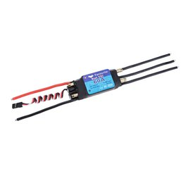 Wholesale Shark Antennas - New Favourite Shark 60A 2-6S LiPo Battery Waterproof Brushless Motor ESC with 5V 5A Switch Mode SBEC for RC Boat Models