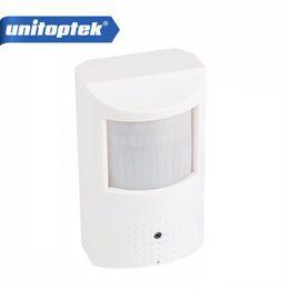 Wholesale Pir Cctv - H.264 HD 720P IP Camera PoE Motion Detector PIR Style CCTV Mini IP Camera 1.0MP P2P&Onvif + Invisible IR 940nm Night vision