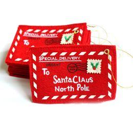 Canada Porte-cartes-cadeaux de Noël Porte-cartes-cadeaux Porte-bonbons avec enveloppes Porte-cartes-cadeaux de Noël, rouge Offre