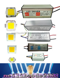 Wholesale High Power Led Chips - LED SMD Chip Bulb 10W 20W 30W 50W 100W LED Driver Supply High Power Waterproof LLWA001